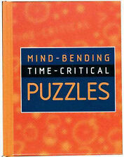 Mind-Bending Time-Critical Puzzles by Lagoon Books (Hardback, 2001)
