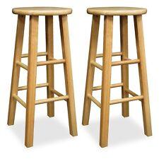 Wooden Bar Stools Ebay