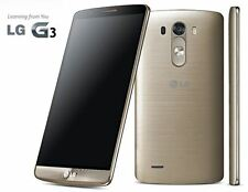 LG G3 GOLD | 3GB + 32GB | 2.5GHz Quad Core | 13MP+2MP | 1 Year Warranty