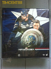 Ready! Hot Toys Captain America Winter Soldier:  Stealth STRIKE Steve Rogers Set