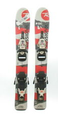 Used Rossignol Roc Junior Snow Skis with Comp Kid Bindings 80cm A