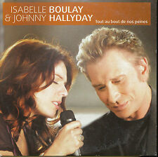 JOHNNY HALLYDAY ISABELLE BOULAY CD SINGLE TOUT AU BOUT