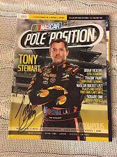 Autographed Tony Stewart Signed Pole Position Magazine NASCAR