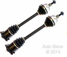2 New DTA CV Axle Front Axles OE Repl. Free Shipping Fits Manual Trans Only