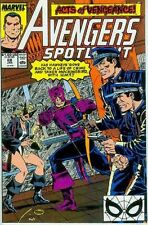 Avengers Spotlight # 28 (Hawkeye, Wonder Man & Wasp) (USA,1990)