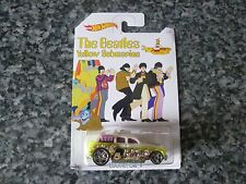 HOT WHEELS BEATLES Yellow Submarine 64th Lennon/Cockney Cab