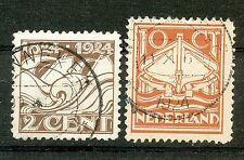 Nederland  139 - 140 gebruikt (2)