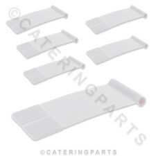 6 x MANITOWOC 4008829 WATER SPLASH CURTAIN FLAPS FOR ECM ICE MACHINES 95 x 37mm