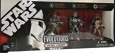 [61270] 2007 STAR WARS EVOLUTIONS CLONE TROOPER to STORMTROOPER BOXED SET