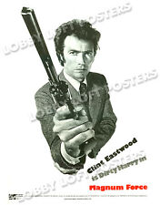 MAGNUM FORCE LOBBY CARD POSTER OS 1973 DIRTY HARRY CLINT EASTWOOD