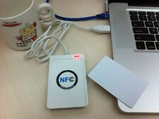 NFC ACR122U RFID Reader Writer + 5 pcs UID Cards + M-ifare Card Clone Software