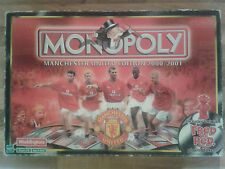 Manchester United Monopoly 2000/2001 Edition Football Man Utd Board Game
