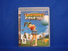 ps3 EVERYBODYS GOLF World Tour Everybody's Playstation 3 PAL