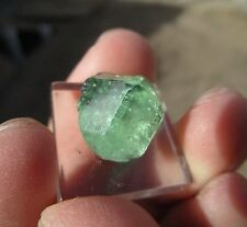 12.85 carat tsavorite garnet from the merelani hills of tanzania