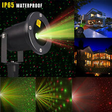 Outdoor Star Laser Projector Light Garden Lawn House Xmas Landscape Stage Lights