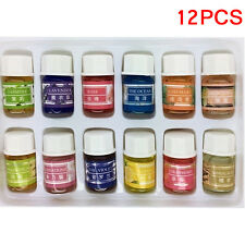 12pcs/Set 100% Pure Natural Aromatherapy Lavender Essential Oils Massage Lot 3ml