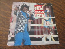 45 tours james brown living in america motion picture soundtrack lp: rocky IV