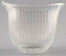 Tapio Wirkkala for Iittala.  Clear art glass with engraved decoration.