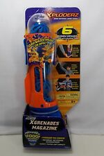 Xploderz XGrenades - 6 Reusable Grenades, Magazine & 1000 Xploderz Rounds *New