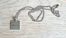 Destiny - Inspirational / Expressional Necklace Pendant Jewelry, Stainless