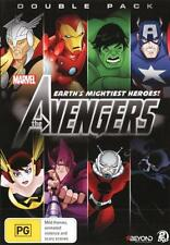 Marvel The Avengers: Earth's Mightiest Heroes: Double Pack  - DVD - NEW Region 4