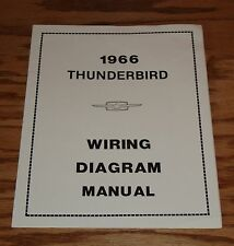 1966 Ford Thunderbird Wiring Diagram Manual 66