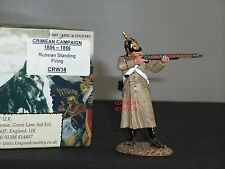 KING AND COUNTRY CRW38 RUSSIAN STANDING FIRING CRIMEAN WAR TOY SOLDIER FIGURE