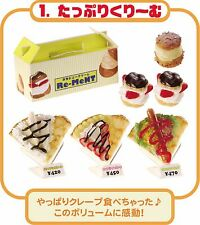 Re-ment Dollhouse Japan Have A Bite Ice Cream Sweet Snacks Rare rement No.01