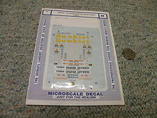 Microscale decals N 60-771 Sunkist Packing House Signs 1955+   D17