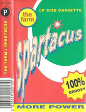THE FARM SPARTACUS CASSETTE ALBUM House, Synth-pop, Indie Rock, Acid House