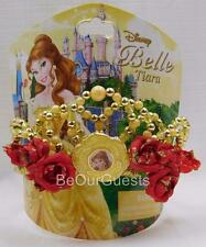Disney Theme Parks Princess Beauty and the Beast Belle Costume Tiara Crown New