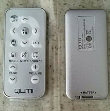 Genuine I/R Projector remote control QRCIVVK For Vivitek QUMI Q5 Q2 Q7 NEW
