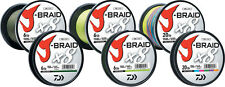 Daiwa J-BRAID Braided 80-1500MU Line 80lb 1650yd 1640 yds 1500 Meter MULTI-COLOR