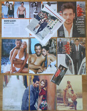 DAVID GANDY spanish clippings magazine photos male model sexy Ads gay interest
