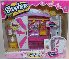 Shopkins Style Me Wardrobe - NEW! With 2 Exclusives and 4 Mini Shopkins