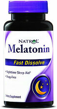 Melatonin Fast Dissolve, Natrol, 90 tablet 5 mg