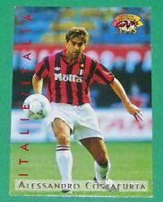 FOOTBALL CARD PANINI 1995 A. COSTACURTA AC MILANO ROSSONERI ITALIA 1994-95