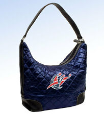 Littlearth WASHINGTON WIZARDS NBA Quilted HOBO Handbag - NAVY BLUE