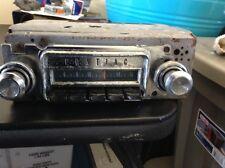1966 pontiac gto am radio