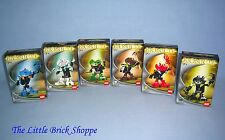 Lego Bionicle 8550-55 Six Bohrok Va figures - Boxed & complete with instructions