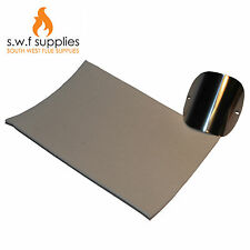 A4 3mm Flue Pipe Stove Glass Seal Gasket Material Woodburner/LogBurnerMulti Fuel