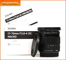 Sigma 17-70mm f2.8-4 DC Macro HSM Lens Contemporary - Sony  Free UK Post