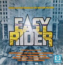 LP EASY RIDER Songs as Performed in the Motion PictureVG+,cleaned abc Records
