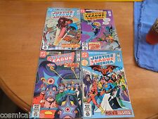 Justice League of America 186 188 190 194 NM 1970s lot of 4 HIGH GRADE
