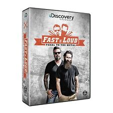 Fast 'N Loud:  The Pedal to the Metal Collection (DVD-R)