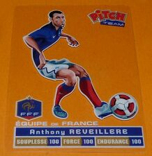 A. REVEILLERE CARTE PITCH TEAM PASQUIER FOOTBALL EQUIPE FRANCE 2012 FFF PANINI