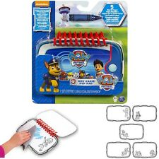 New Paw Patrol Dry Erase Pup Drawing Pad Childs Fun Activities Travel Rainy Day