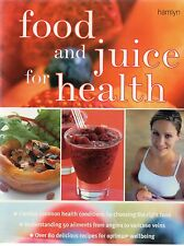 FOOD AND JUICE FOR HEALTH (2002 large paperback)