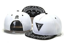 2015 HOT Hip Hop Adjustable Snapback Style Baseball Hat/cap white