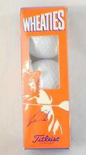 Wheaties Tiger Woods Golf Ball 3- Pack